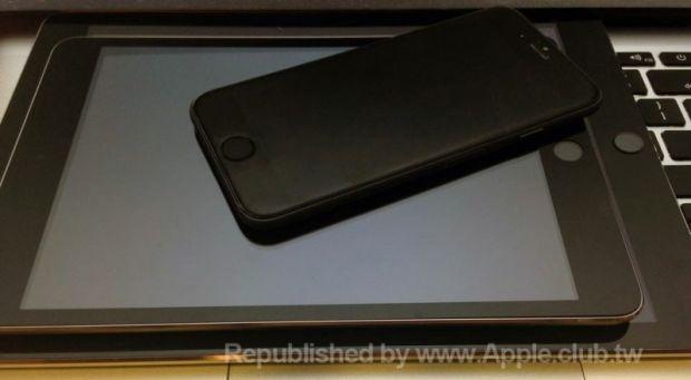 iPhone 6, fotografiat impreuna cu iPad Air 2 si iPad mini 3. FOTO
