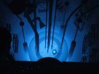 Cum porneste un reactor nuclear. VIDEO cu momentul in care viteza luminii a fost depasita