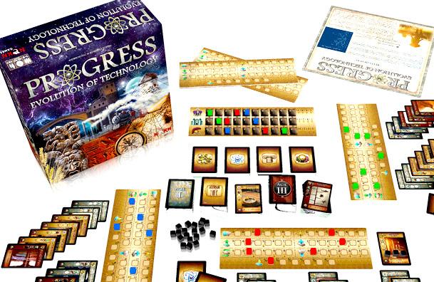 Progress: Evolution of Technology . Jocul romanesc a strans $95.000 pe Kickstarter