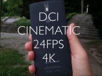 Primul telefon care filmeaza DCI 4K, exact ca pentru filme. VIDEO