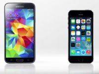 Multi dintre utilizatorii de iPhone trec la Galaxy S5