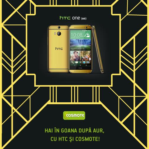Castiga un telefon de aur cu HTC si COSMOTE (P)
