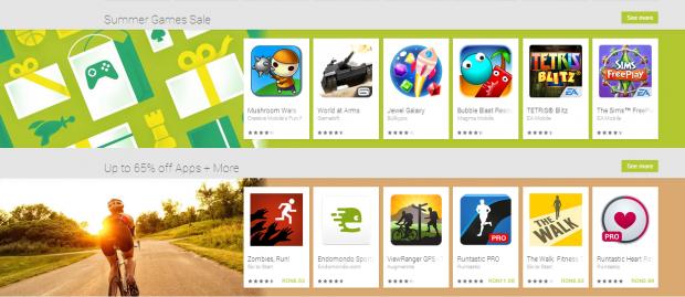 Au inceput reducerile de vara la aplicatiile Android! Lista jocurilor care costa cat o inghetata