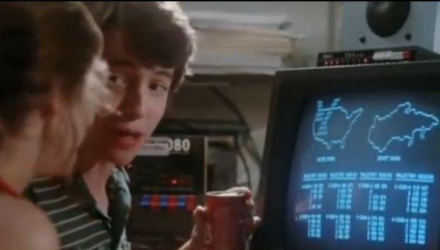 Adevaratii hackeri ar muri de ras. Cele mai tari scene cu hackeri in filmele anilor  80. VIDEO