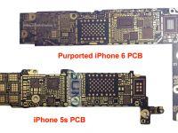 iPhone 6 cu NFC si ecran mai mare. Placa de baza a telefonului a aparut pe Internet