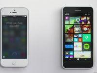 Siri, invinsa de Cortana intr-o noua reclama a Microsoft. VIDEO