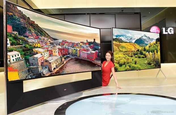 LG lanseaza televizorul 5K. E curbat si are 105 inch