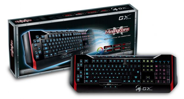 Genius aduce in Romania tastatura de gaming GX Manticore