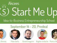 Scoala de antreprenoriat Start Me Up se organizeaza anul acesta in septembrie