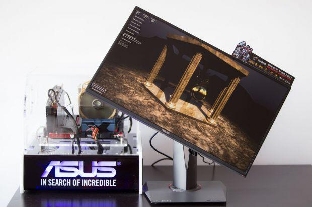 Monitorul pentru gameri ASUS ROG Swift PG278Q cu G-SYNC a ajuns in Romania