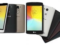 LG L Bello si Fino, doua noi telefoane accesibile din seria L