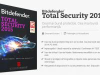Bitdefender Total Security 2015 Hands-on. Instalare extrem de usoara, protectie maxima