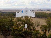 Google testeaza drone care sa transporte colete. Prima a dus ciocolata