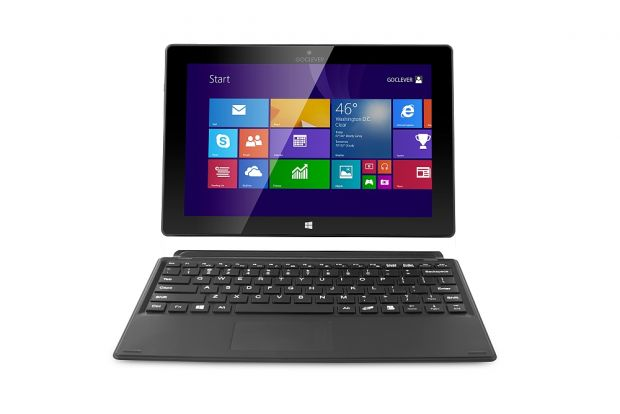 GOCLEVER Insignia 1010 Business, o tableta cu tastatura, Windows si Office