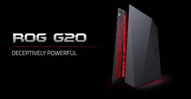 ASUS prezinta cel mai puternic calculator compact de gaming: G20
