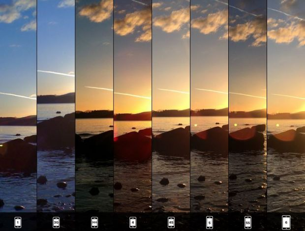 Cum au evoluat camerele foto de pe iPhone, din 2007 si pana acum