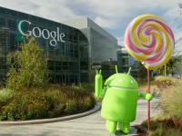 Android 5 Lollipop a primit propria statuie in fata sediului Google