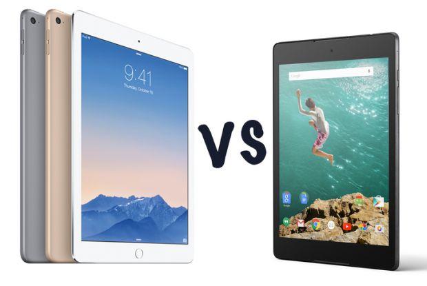iPad Air 2 vs Nexus 9. Ce tableta e mai buna?