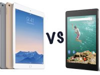 iPad Air 2 vs Nexus 9. Ce tableta e mai buna?