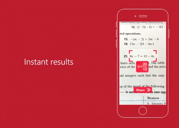 Aplicatia care rezolva exercitii la matematica! Trebuie doar sa pornesti camera telefonului!