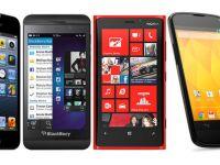 Telefoanele cu Android domina piata. Apple, in scadere fata de 2013 inainte de lansarea iPhone 6