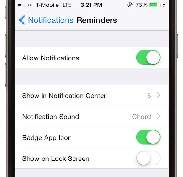 Redu notificarile - chiar daca ele in sine nu consuma bateria, activarea ecranului o face. Treci notificarile pe modul silentios. Mergi la Settings > Notifications. Apoi, sub fiecare categorie de notificare, treci pe mut. La Alert Style, alege None
