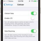 Dezactiveaza conectivitatea 4G, LTE - cu toate ca 4G e mai rapida decat 3G, consuma mult mai multa baterie. Vei avea viteze mai mici, insa bateria va fi conservata. Mergi la Settings > Cellular