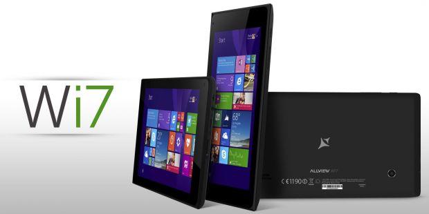 Allview Wi7 si Wi10N, doua device-uri atractive cu Windows 8.1