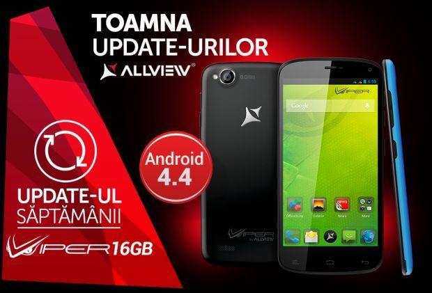 Allview ofera update de software pentru smartphone-ul V1 Viper 16 GB