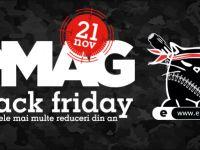 (P) Reduceri imense de Black Friday la eMAG. Consola PS4 la un pret incredibil, monitor LED la doar 199 lei