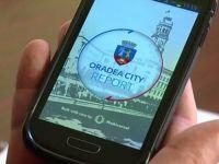 Aplicatia prin care Oradea a devenit unica in tara. Sute de persoane au semnalat autoritatilor problemele stradale