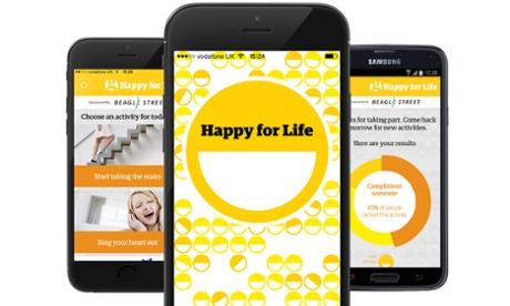 Vrei sa fii fericit? Exista o aplicatie gratuita pentru asta