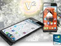 Telefonul cu 320GB de spatiu, prezentat la CES 2015. Are specificatii pur si simplu SF!
