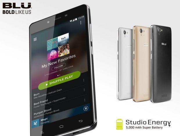 Smartphone-ul cu baterie de 5000mAh, lansat la CES 2015! Il incarci de 2 ori pe saptamana. Pretul este mic