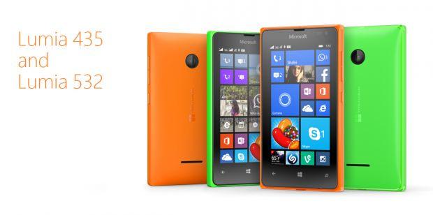 Microsoft Lumia 435 si Lumia 532, cele mai ieftine telefoane din gama, lansate acum