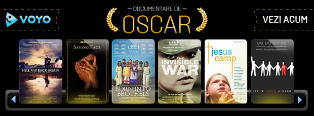 Documentare de Oscar acum pe Voyo.ro. Oameni si situatii reale care au emotionat intreaga Planeta