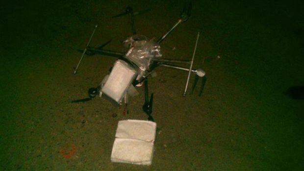 Au gasit o drona prabusita si s-au uitat sa vada ce se ascunde in ea! Politia a fost chemata de urgenta