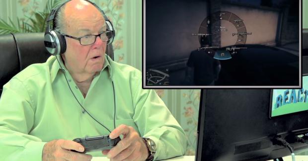 Cum reactioneaza batranii cand joaca prima data Grand Theft Auto! VIDEO