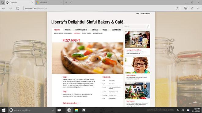 Microsoft arata detaliile browserului Spartan. Cat este de modern