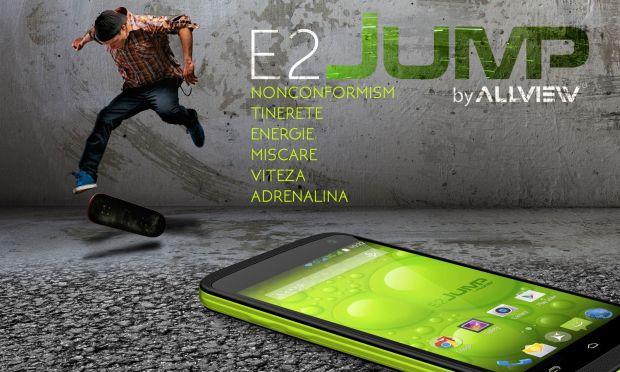 Allview lanseaza E2 JUMP, telefonul rezistent la apa la un pret mic:  E alegerea potrivita pentru tineri