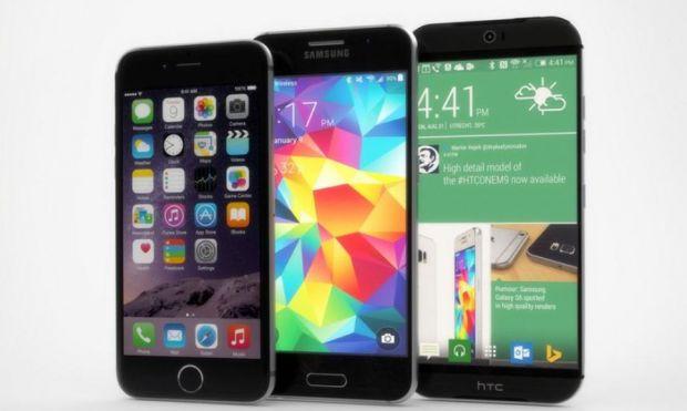 Duelul gigantilor: Galaxy S6 vs One M9 vs iPhone 6 vs LG G3 vs Moto X! Care e cel mai tare smartphone