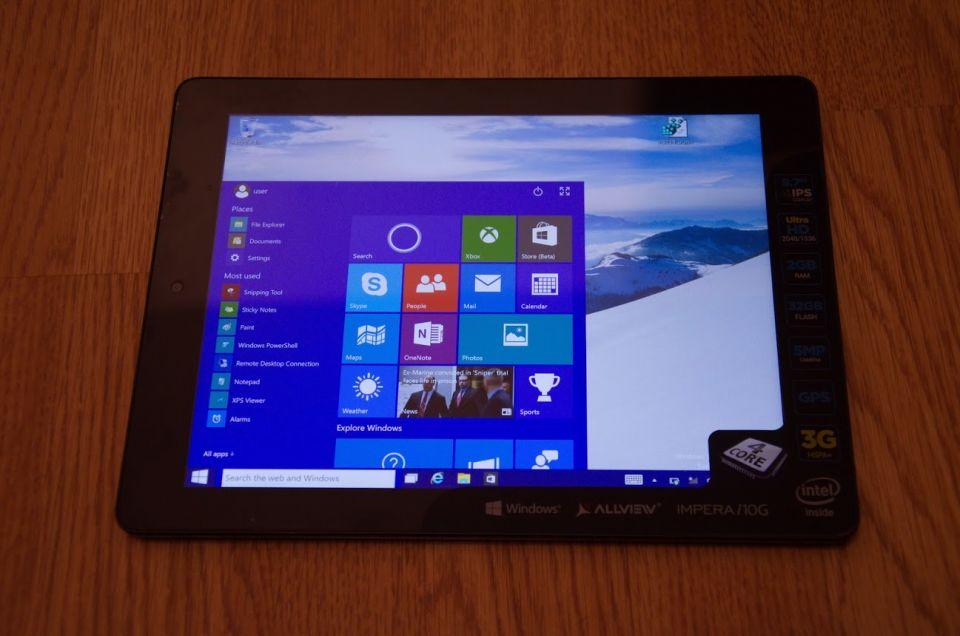 Allview Impera i10G, cu Windows 10. Cu ce tablete ne vor surprinde brasovenii in acest an