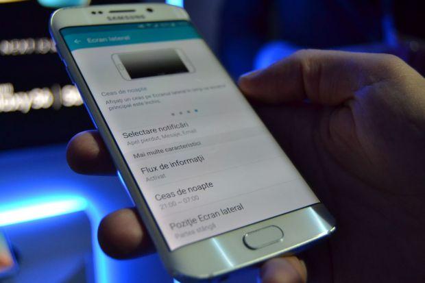 Adevaratul test pentru Samsung Galaxy S6 Edge! Cat tine bateria noului flasgship