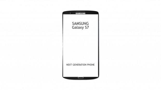 Concept Samsung Galaxy S7! Ecran 4K unic si specificatii utopice! Primul telefon care va scana ochiul utilizatorului