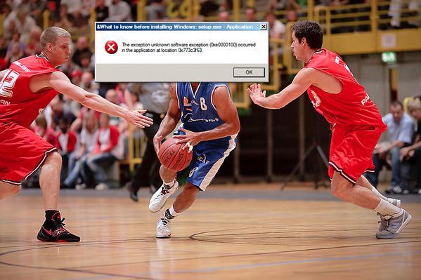 O echipa de baschet din Germania poate retrograda din cauza unei probleme de Windows!