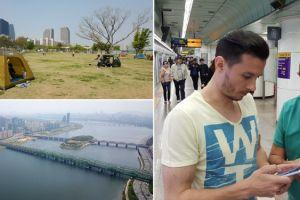 Calatoria Galaxy S6 a ajuns in orasul unde masinile stau iar Internetul alearga. Trepte de viteza in Seul