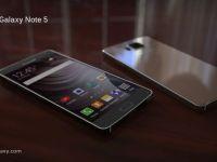 Au aparut imagini cu Galaxy Note 5! Primul telefon din istorie care vine cu un asemenea ecran