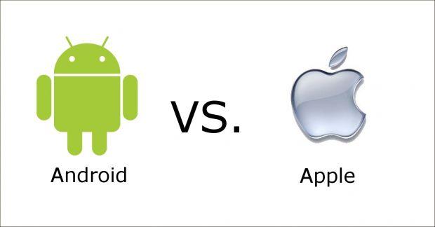 Duelul dintre Apple si Google este din ce in ce mai aprins! Cine castiga razboiul iOS vs Android in Europa