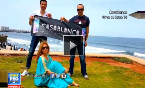 (P) Calatoria Galaxy S6 a ajuns la Casablanca. Cum se vede cea mai mare moschee din Africa prin noul senzor foto al Samsung