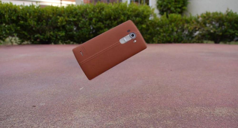 Cat de rezistent este LG G4. VIDEO